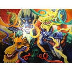 Kz3 - Obraz Pět draků