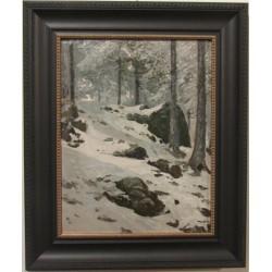 Sk811 – Obraz Zimní les