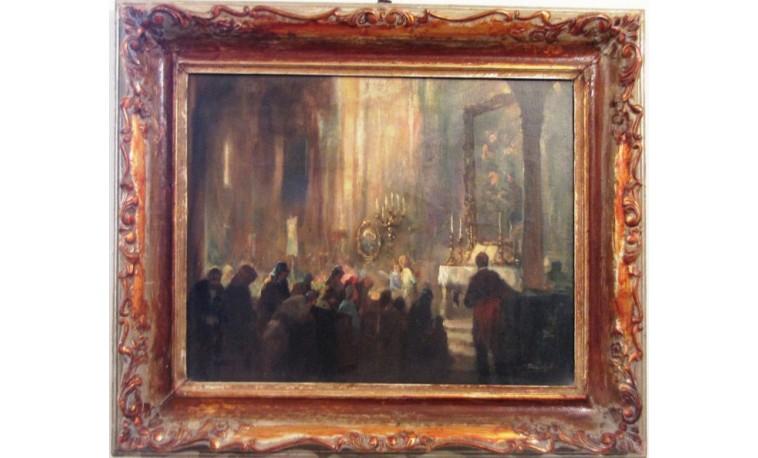 Sk783 – Obraz V kostele