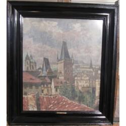 Sk134 – Obraz Mostecká věž