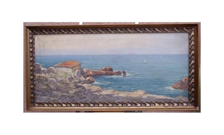Sk239 – Obraz Jadranské pobřeží