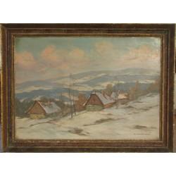 Sk241 – Obraz Zima v Železných horách