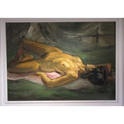 Sk881 – Obraz Ležící žena