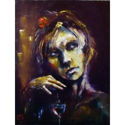 Sk575 – Obraz Třešňové víno