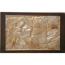 Sk1007 – Kovový relief