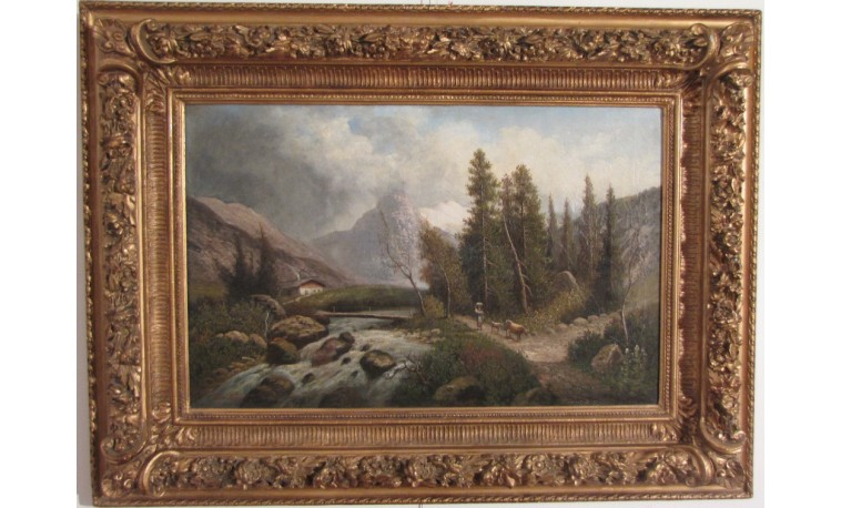 Sk809 – Obraz Alpská krajina