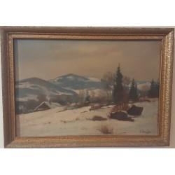 Sk1030 - Obraz Zimní krajina