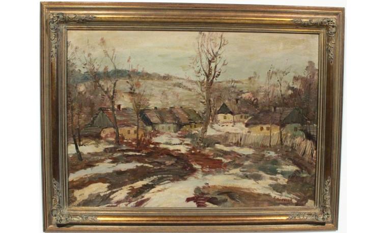 Sk1076 - Obraz Zima na Vysočině
