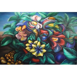 Kz3 - Obraz Květy