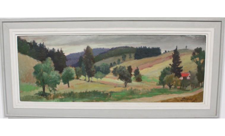 Sk1118 - Obraz Cesta v údolí