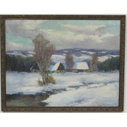 K105 - Obraz Zimní krajina