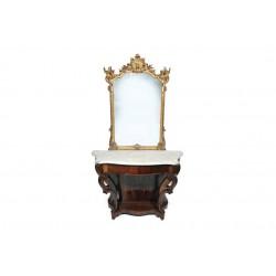 Sk1233 - Konzolový stůl se zrcadlem