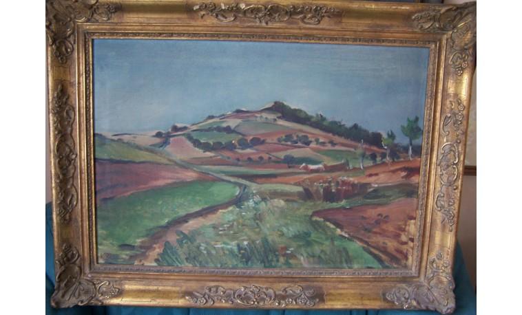K96 - Obraz Krajina u Berouna