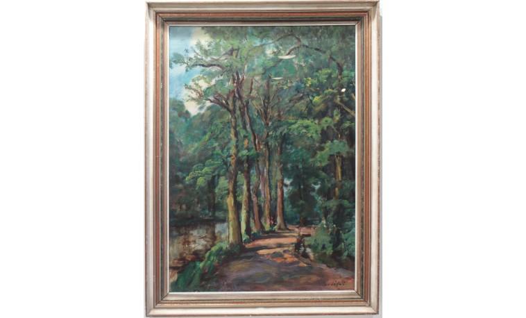 Sk1274 - Obraz cesta mezi stromy