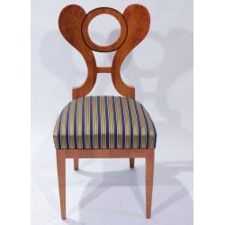 K117 - Židle biedermeier 2 ks