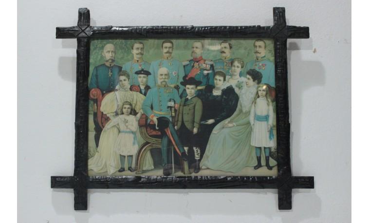 Sk1297 - Tisk Císařská rodina