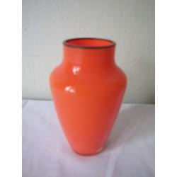 Sk1368 - Váza ořanžová